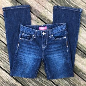 Old Navy girls 10 bootcut jeans